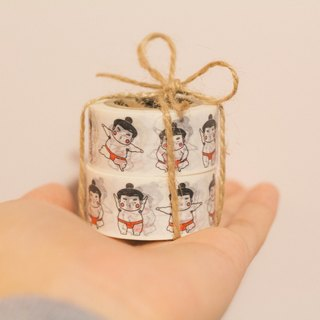 "Sumo ""Little Fat"" Masking tape 