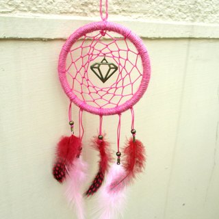 Small kite - for their own shiny dream catcher - deep powder 10 cm