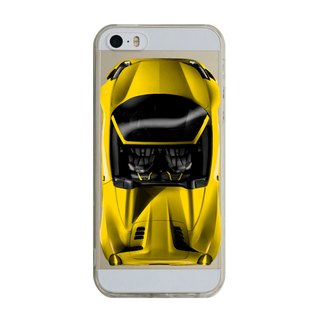 Custom yellow sports car iPhone X 8 7 6s Plus 5s Samsung S7 S8 S9 Mobile Shell