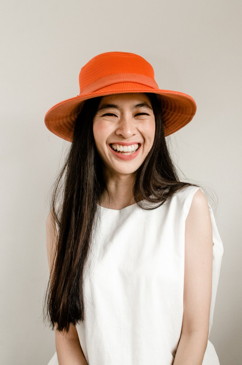 PALINI Sandwich Bucket Hat - Orange