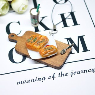 =>Clay Series - Seaweed Chicken Steak - Charm # can be changed into a key ring => limited *1