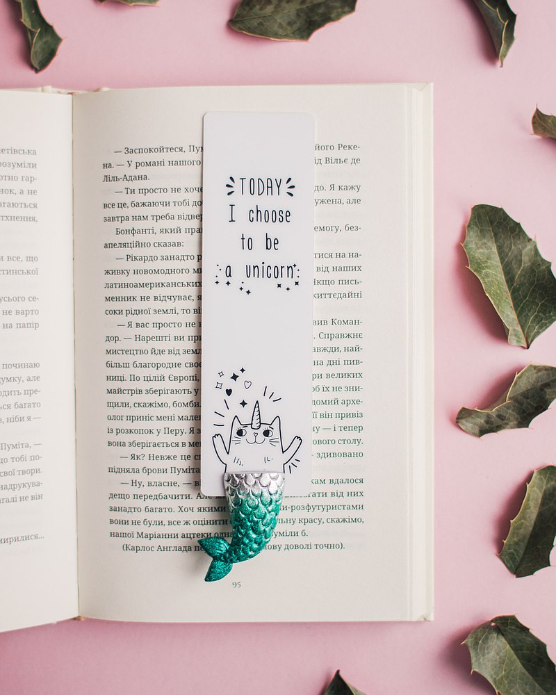 Bookmark Purrmaid Meowmaid Cute Unique Excellent Personalised Wonderful Gift