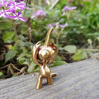 Baotou unicorn brass hand made for a small couple more decorative