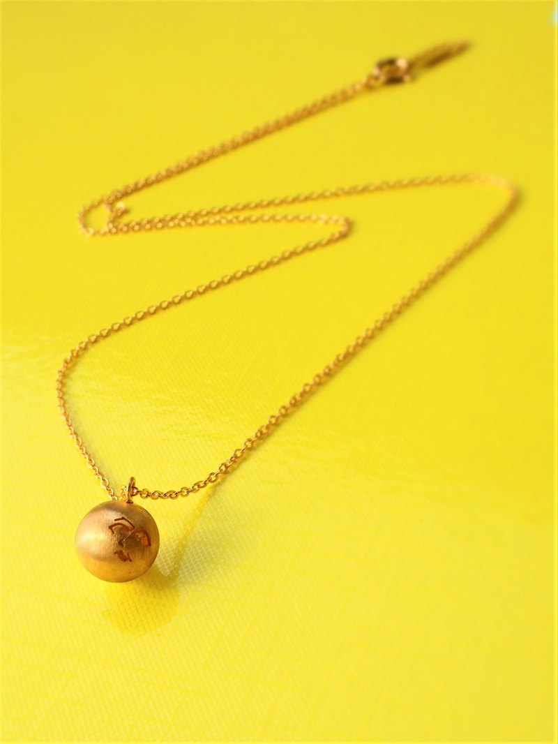 Rippled lady pearl reversible necklace