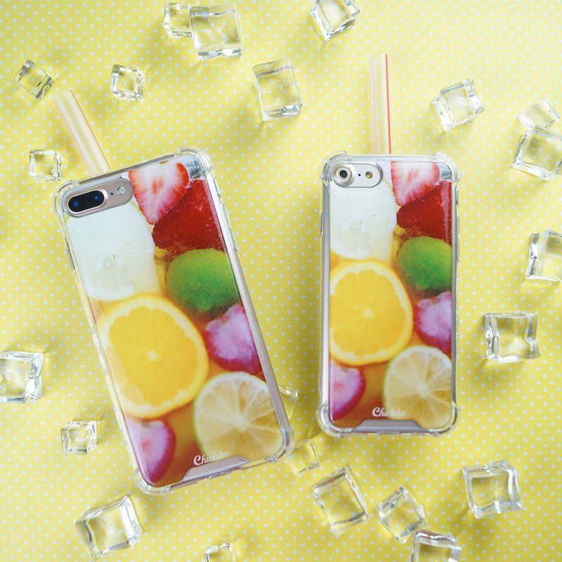 [Assam fruit tea] anti-gravity anti-fall mobile phone case