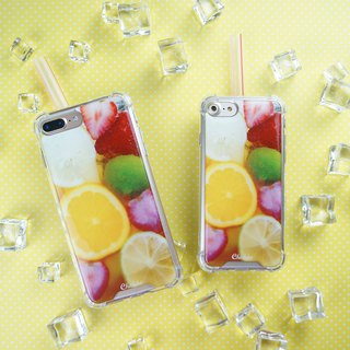 [Assam Fruit Tea] anti-gravity drop phone case