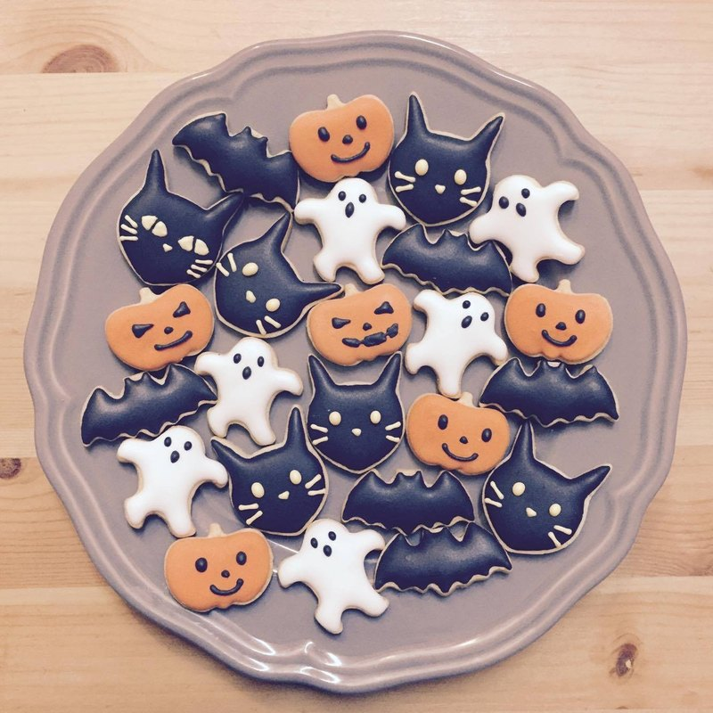[Halloween limited] super Q Halloween cookies (a box of 3 packs)