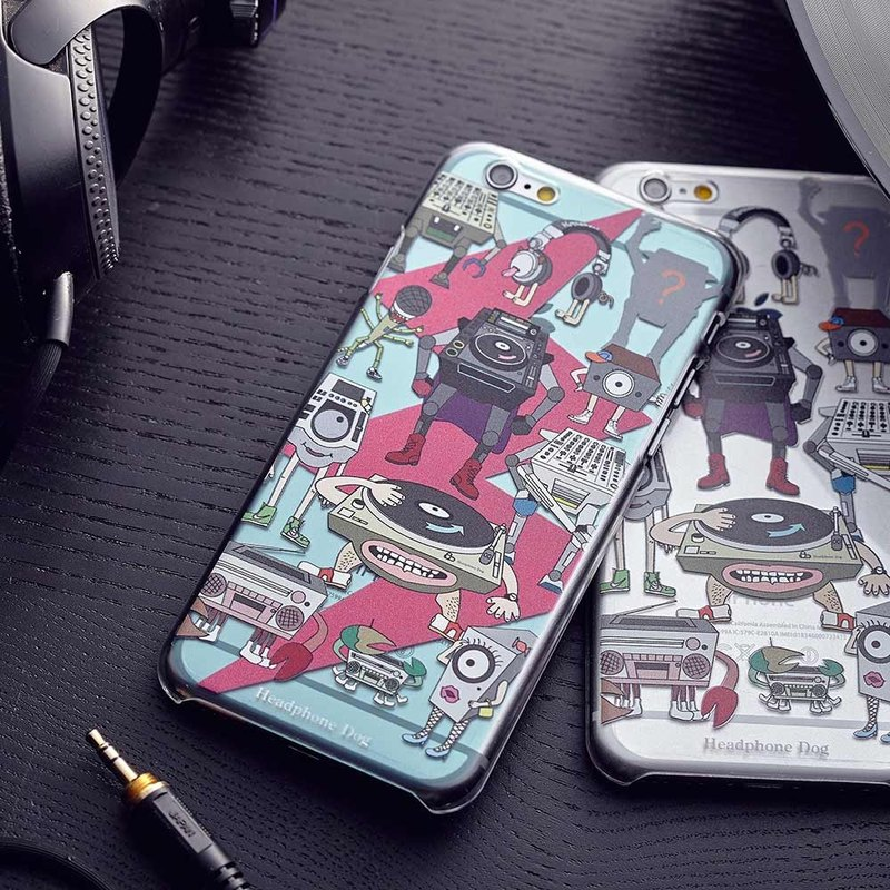 HeadphoneDog iPhone Case (iphone8/7/6/5)
