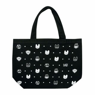 LAZYMARU-MA001114 Little Star Tote bag fights Taiwan's cultural and creative