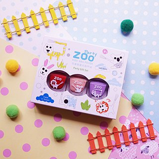 ZOO ㄖ ㄨ Abandoned Nail Polish 3pcs - Kids Gifts Christmas Present Birthday Gift (Optional)