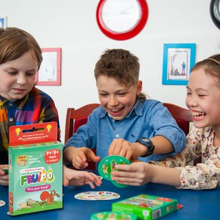 THE BRAINY BAND-Fruit Count to Ten-Russian Children's Board Game -- Strengthening STEAM Education