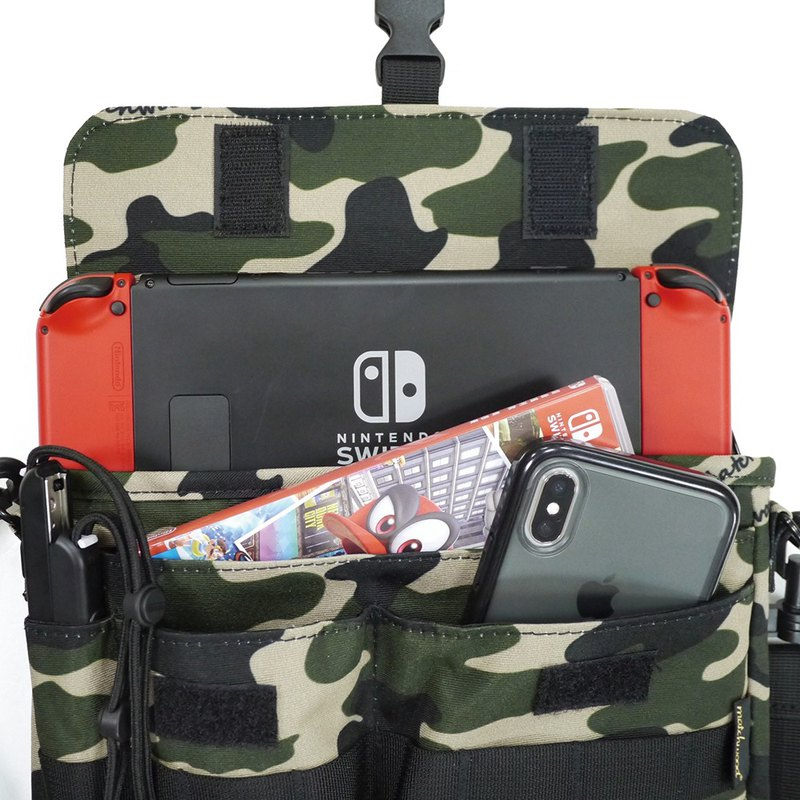 Matchwood design Matchwood Sacoche Switch host full waterproof storage bag camouflage