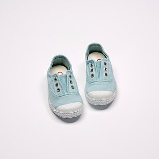 Spanish national canvas shoes CIENTA children's shoes size light blue fragrant shoes 70997 72