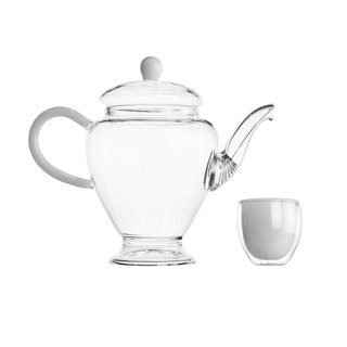 Dance Color Series Tea Set - White Jade