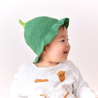 100% Cotton Baby Beanie Vegetable Hat Made in Bali Handmade