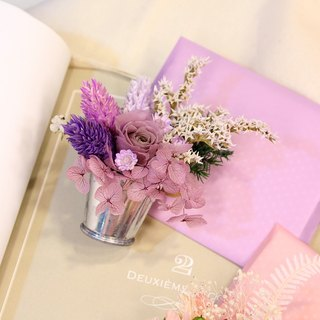 """Talk about the truth - romantic fantasy purple"" magnet Flowers & Gifts and Mother's Day card kit │ │ │ Carnation Dried Flowers Preserved flowers │ │ │ gift card magnet │"