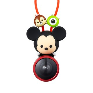 InfoThink TSUM TSUM Ultra Wide Angle 3 in 1 Mobile Phone Lens Clip - Mickey