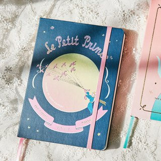 7321 Magic Series - Little Prince Ties Hardcover Notebook - Migratory Bird Travel, 73D74256