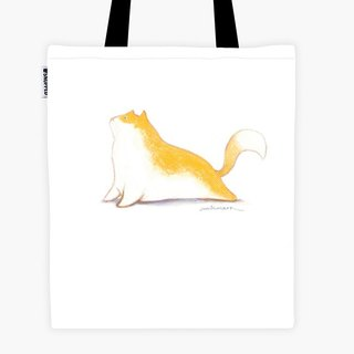 Filament - Shopping Bag - Yoga Cat - Up Dog