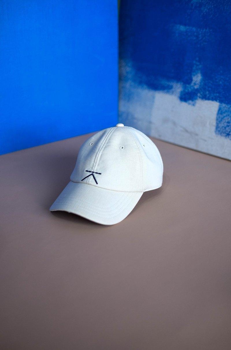 30ea81bc88ea Linen cap - Nude Cream - Designer Kodangs
