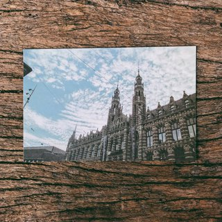 Amsterdam city architecture photography postcard