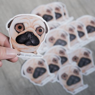 Sold Out Pug stickers Beagle Sticker Set Hand Painted Pencil Sticker Pack