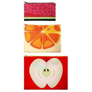 LOQI into three groups pouch / Fruit ZPFR