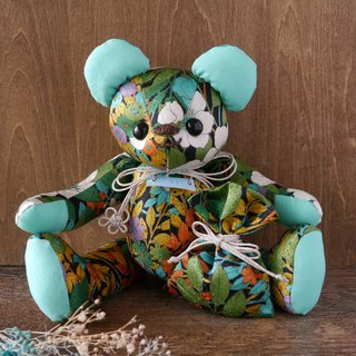 Kimono teddy bear premium and smell bag Xmas with gift package