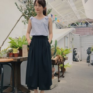 Rumie X function cloth series discount wide skirt
