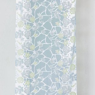 Pre-ordered cute marine life curtain (two colors) 4ISP8151
