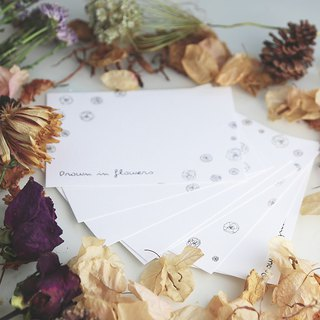 Drown In Flowers Postcard Set