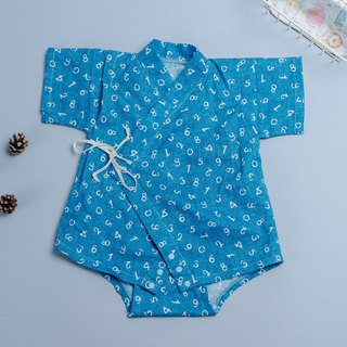 Japanese flat gauze cloth - sapphire digital non-toxic bathrobes, flat baby