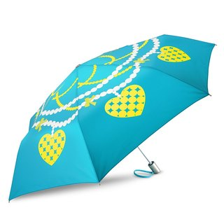 Ultra Lightweight Auto Open Close Umbrella - Pearl Jewelry