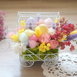 Spring Limit: Hand-made dried flowers / not withered series ~ Marshmallow wind spring colorful colorful floats (in stock) / wedding arrangements / wedding props / grocery layout / cafe layout / home furnishings ~