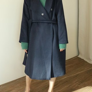 Rennes Coat Skimmed Kashmir Wool Coat (can be customized for other colors)