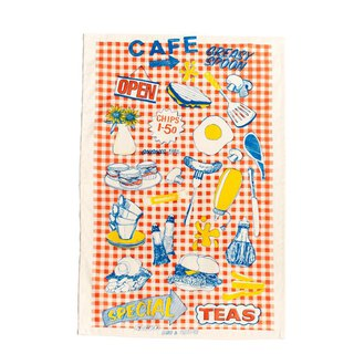 British Gillian Kyle traditional bistro fun totem kitchen special towel / decoration table mat