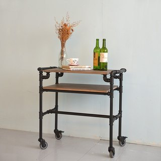 Industrial wind _ mini mobile work table / diner