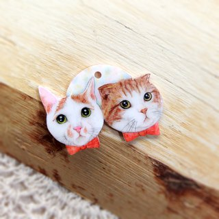 Custom hand-painted pet pendant double head single (Please confirm the time before payment)