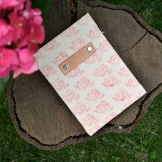 Flower handmade book