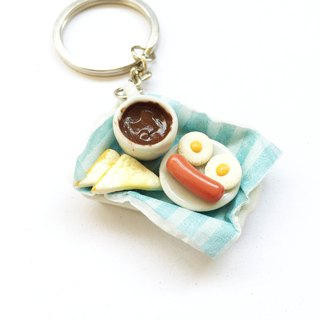 Breakfast Keychain Set 1