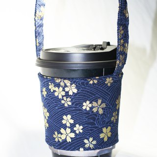 [AnnaNina] green cup set cup bag bag drink can accommodate love cherry blue