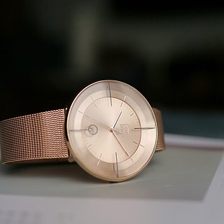 FLOATING 3829 Cannes Aesthetics Milan Watch - Rose Gold