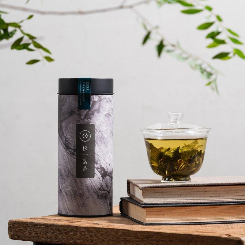   松一製茶   特級阿里山烏龍茶 150g 滋味甘醇 喉韻強勁