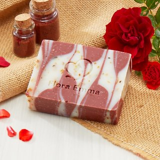Rose Red Mud Soap - Emma Handmade Soap Expert