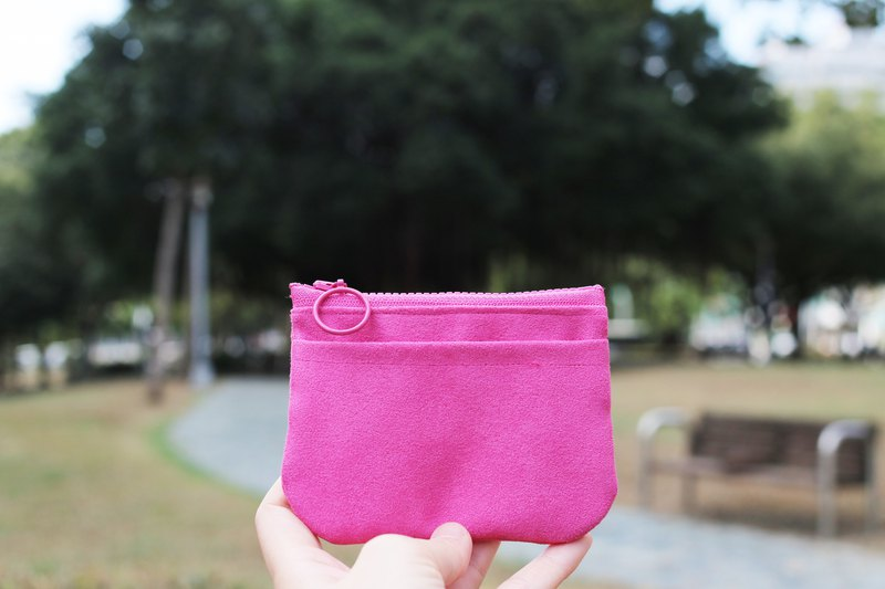 Chez. Small items series zero buckle - rose powder