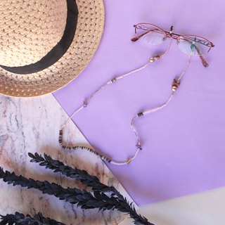 Cotton pearl Glasses chain Necklace