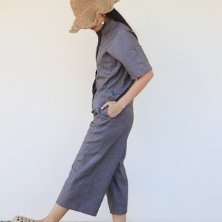 Munkud Paper Pants / Cotton Linen Hemp