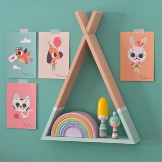 Tipi shelf Mint