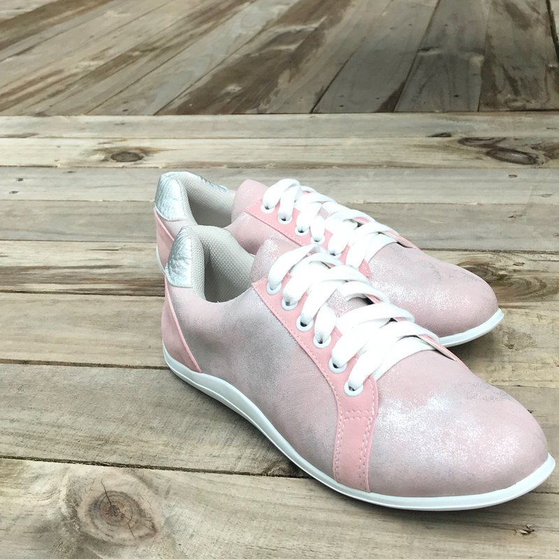 Pink Beam | Lace-up Trainers | Handmade Sneaker
