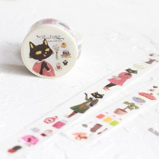 Black Cat Washi Tape I MissCatCat's coffee shop